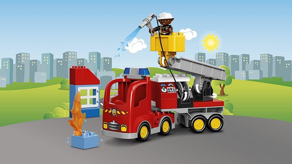 Camion de Pompier Lego Duplo