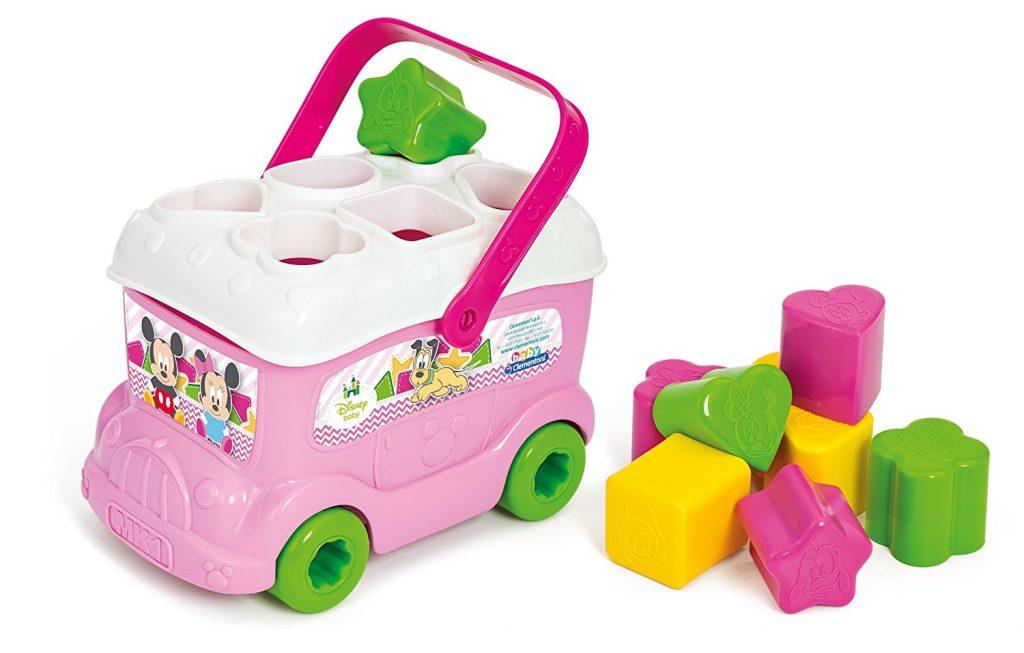 Le bus des formes Minnie de Clementoni