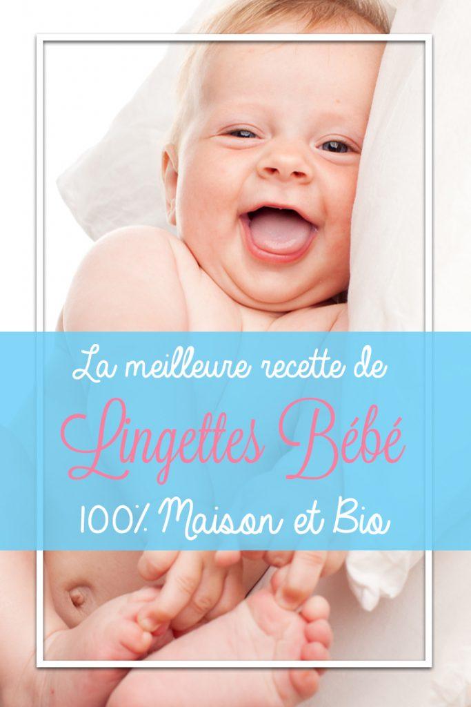 Vous souhaitez faire vos propres lingettes bébé maison ? Notre recette 100% Bio assurera à votre bébé un nettoyage en tout sécurité et à la senteur fraîche irrésistible ! Si vous recherchez une recette de lingette bébé maison, ré-épinglez et partagez :)