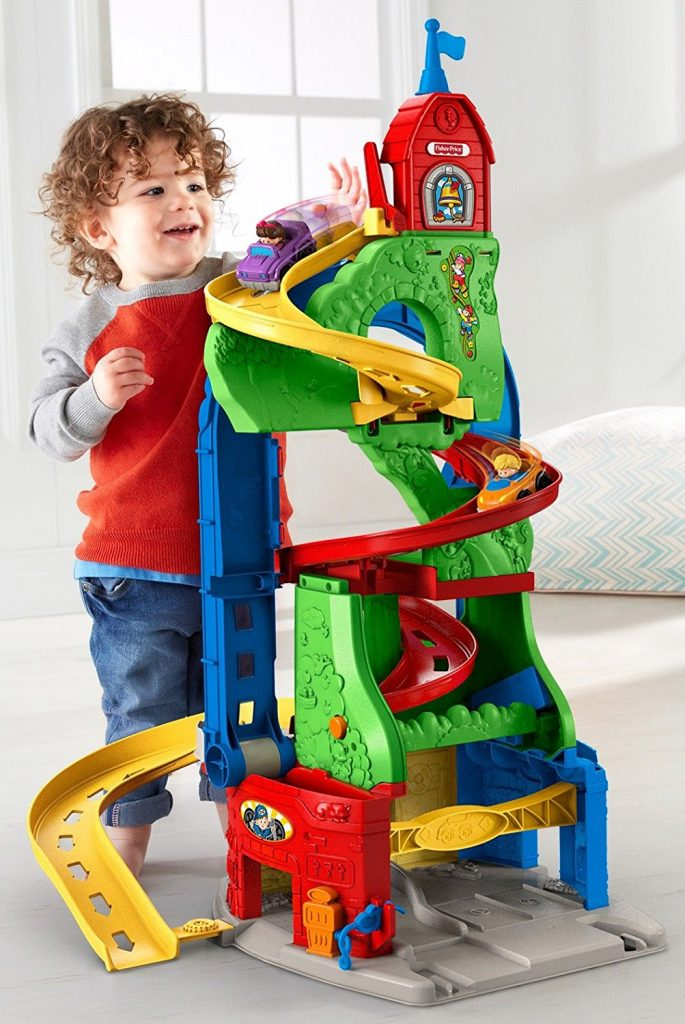 Nouvelle Tour Spirale - Little People - Fisher Price