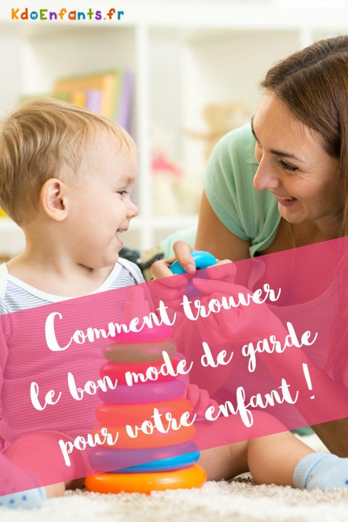 Vous souhaitez trouver le bon mode de garde pour votre enfant ? Tous nos meilleurs conseils dans cet article !
