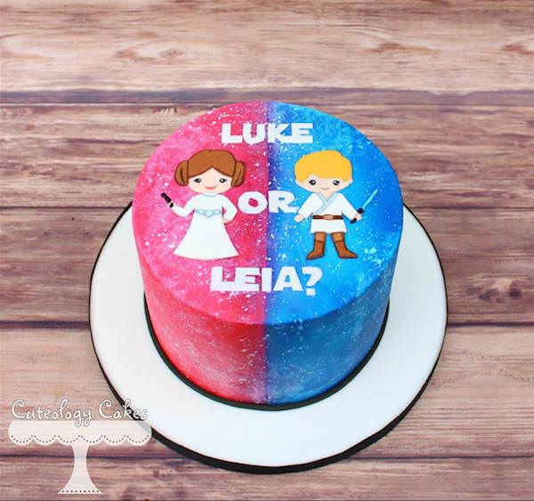 Gender Cake Star Wars