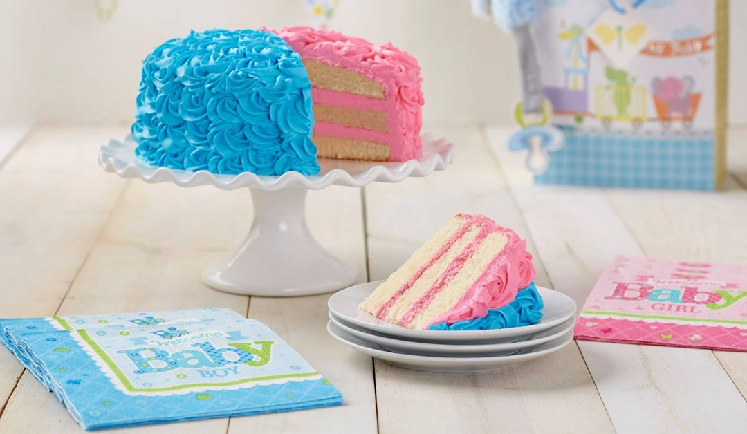 10 gender reveal cake trop mignons pour une baby shower