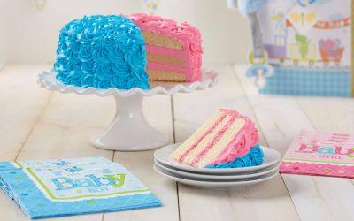 10 gender reveal cake trop mignons pour une baby shower