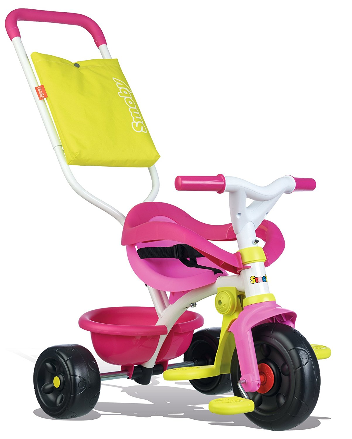 tricycle-be-fun-confort-rose-smoby